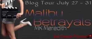 Malibu Betrayals blog tour banner